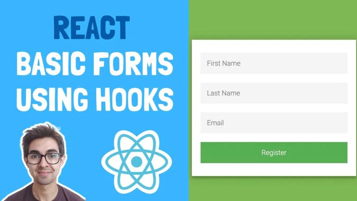Projeto React para iniciantes – Como construir formulários básicos usando os ganchos React