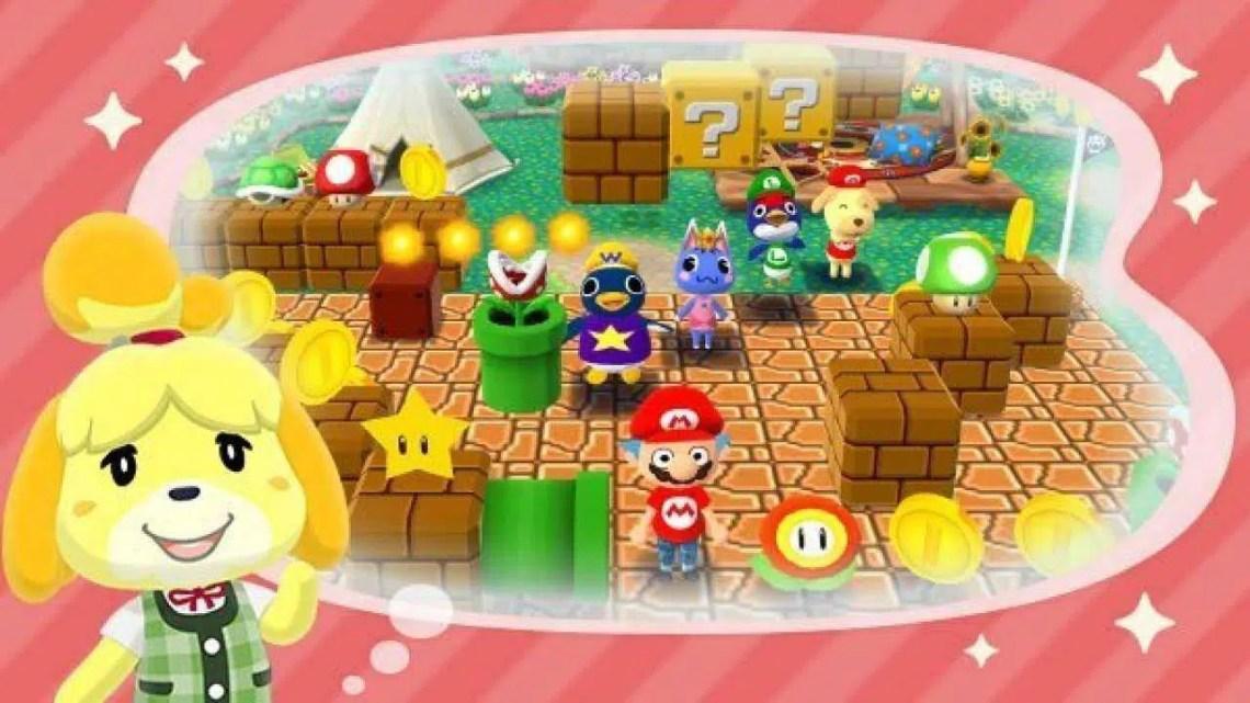 Animal Crossing: New Horizons finalmente terá móveis com o tema Mario