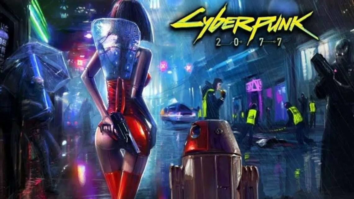 A localização chinesa do Cyberpunk 2077 mostra um grande tamanho de jogo