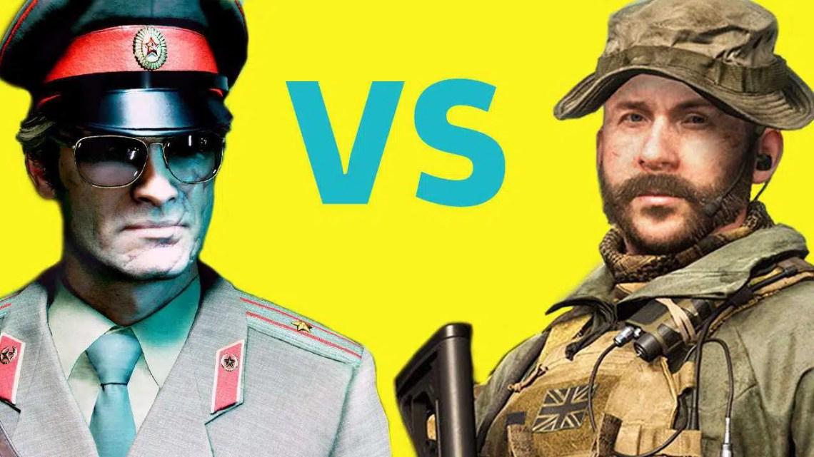 Multijogador da Guerra Fria de Call Of Duty vs. Modern Warfare