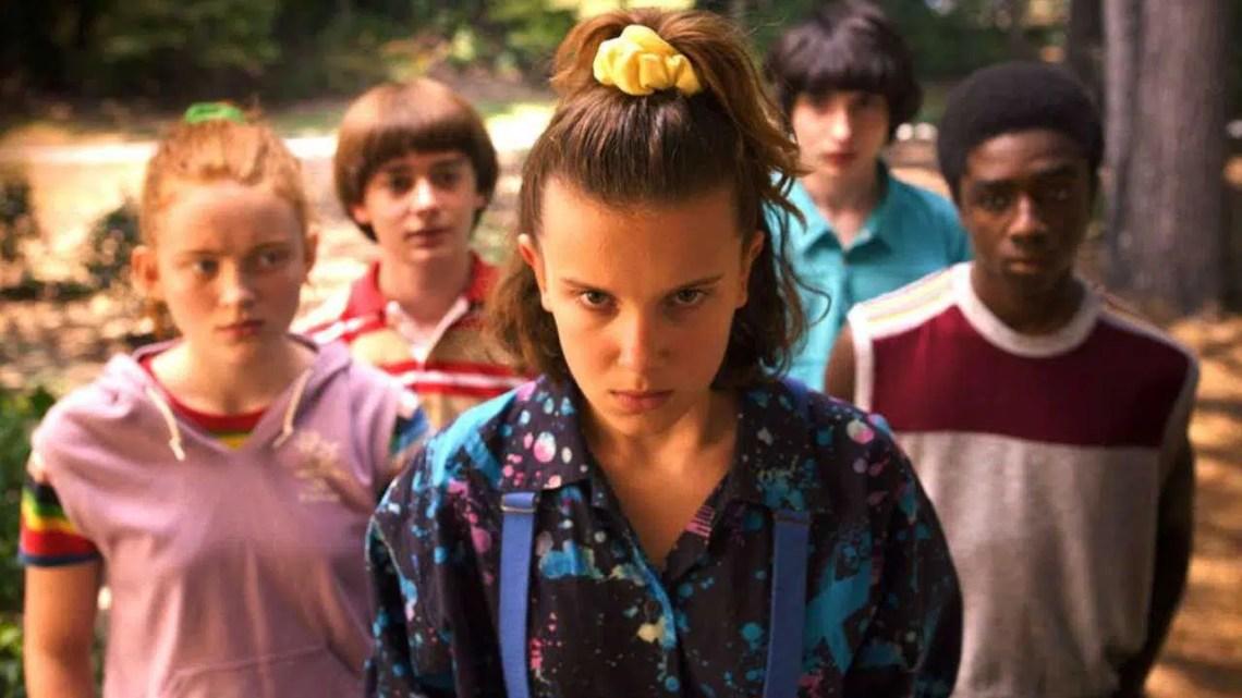 Stranger Things Star apareceu na semana passada esta noite, antes que a série da Netflix se tornasse viral
