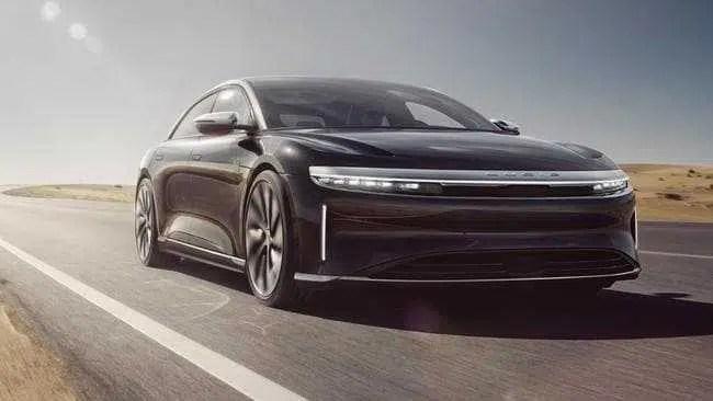 Lucid Motors, rival da Tesla, revela o carro elétrico mais avançado do mundo