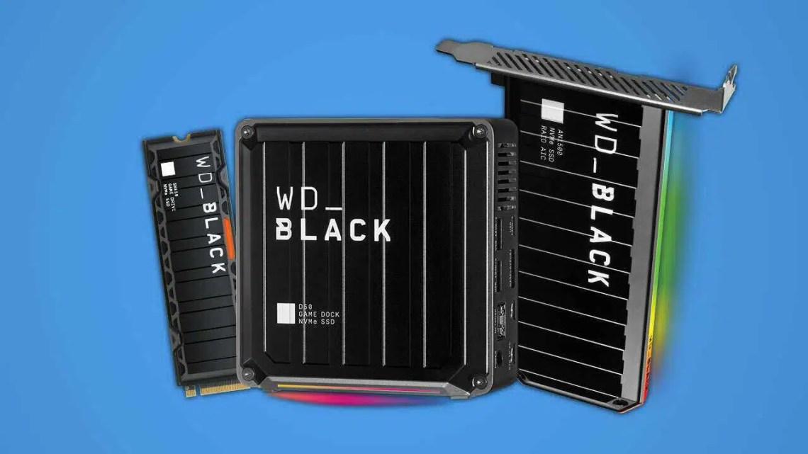 Novo SSD NVMe da WD revelado, e é rápido o suficiente para o PS5