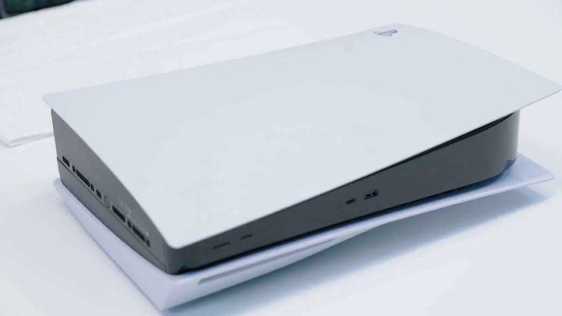 Como inverter PS5 entre orientação vertical e horizontal