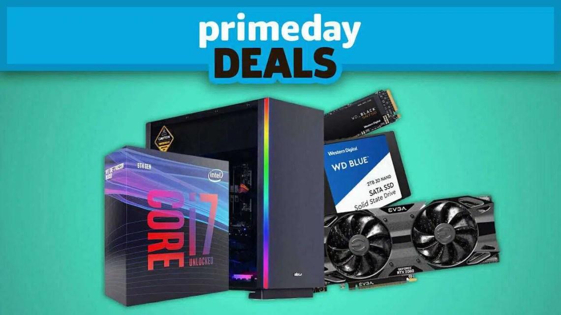 Venda massiva de tecnologia com desconto em placas gráficas e PCs para jogos durante o primeiro dia da Amazon