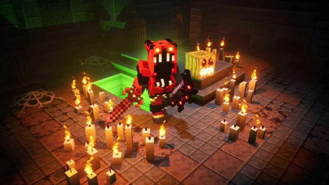 Evento de Halloween do Minecraft Dungeons agora ao vivo em todas as plataformas