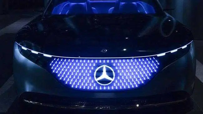 Mercedes-Benz EQS o primeiro de seis novos carros elétricos