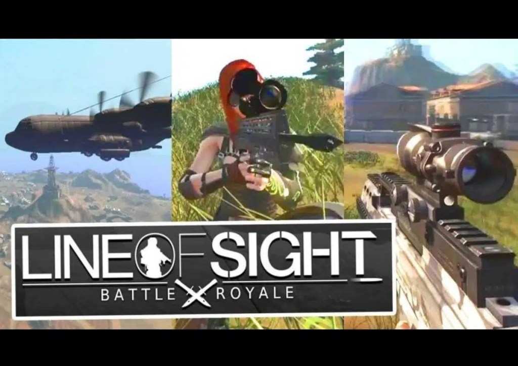 capa do jogo de battle royale para pc fraco line of sight