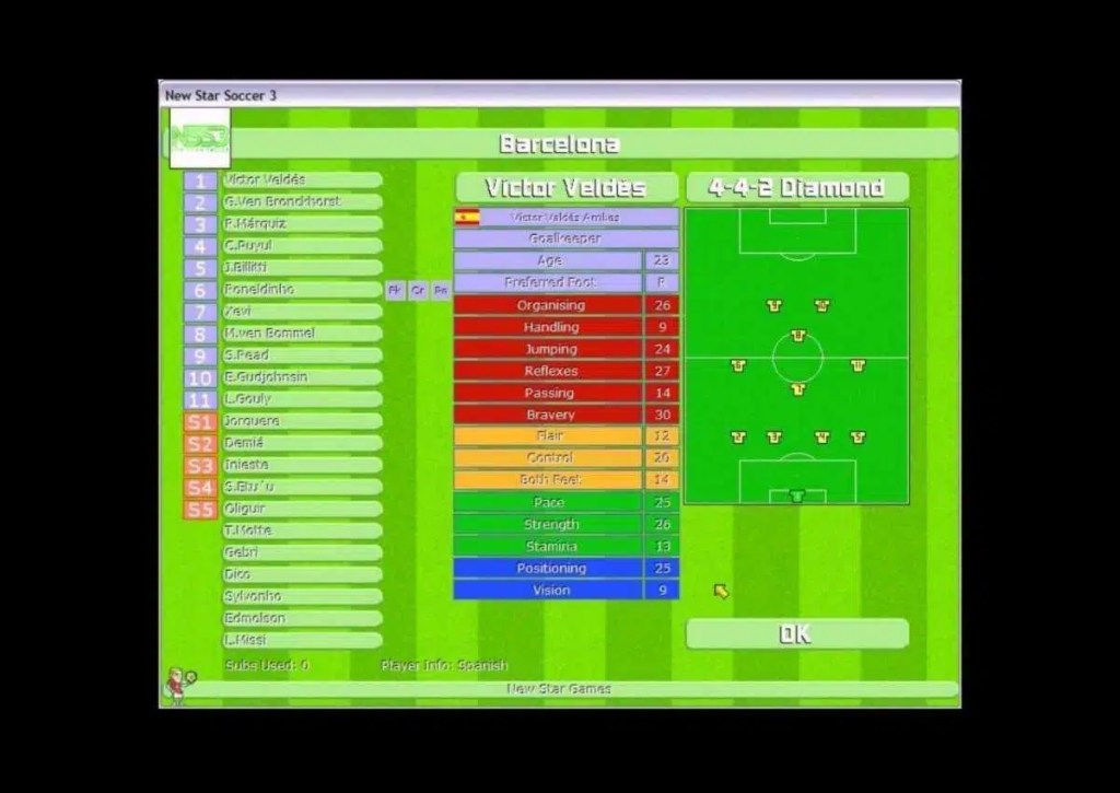 capa do jogo de futebol para pc fraco super star soccer 2003