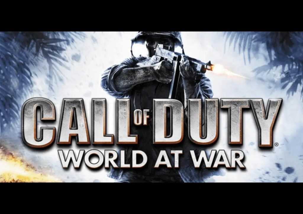 capa do jogo para pc fraco call of duty world at war