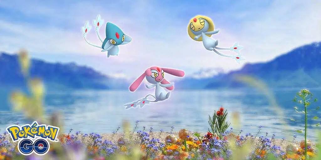 Pokémon Go traz mais três Pokémon lendários de volta na próxima semana