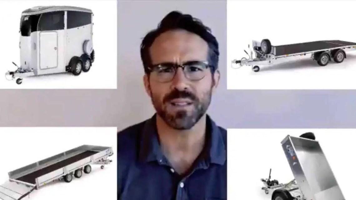 Ryan Reynolds e Rob McElhenney querem que você compre um trailer de cavalos