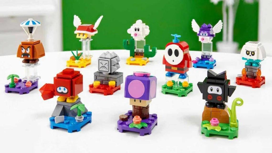 Novos conjuntos de Lego Super Mario em janeiro de 2021