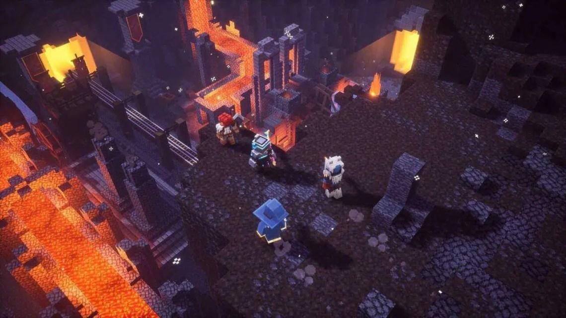 Minecraft Dungeons: A atualização do Crossplay está no ar agora