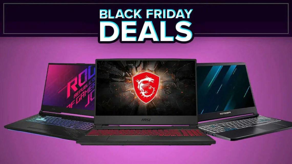 Melhores ofertas de laptops para jogos da Black Friday 2020