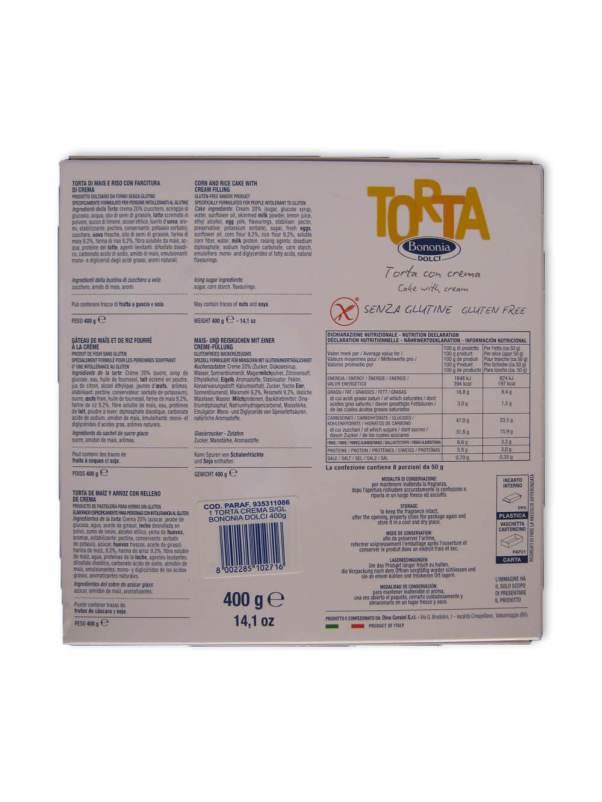 immagine Torta crema Bononia retro