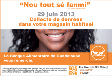 banque alimentaire guadeloupe 2013