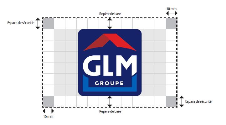 Logo GLM repère charte