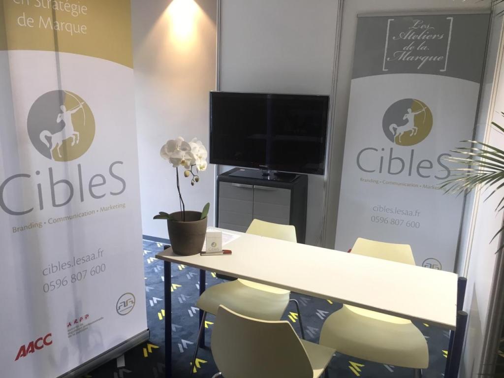 Plan Salon Ose! Martinique - Stand n°9 Agence CibleS