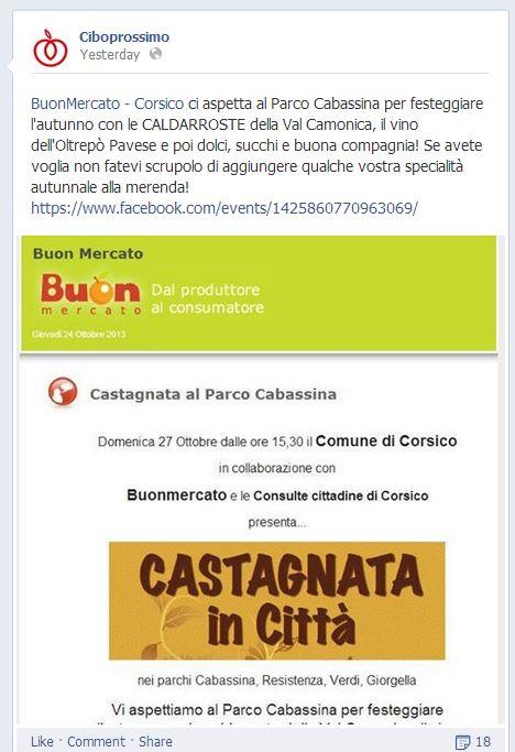 Buon Mercato Castagnata