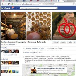 Evento Ciboprossimo su Facebook