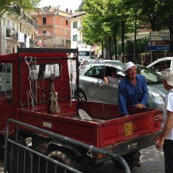 Campdigrano - Il nostro mezzo di trasporto con Beppe il maestro Beppe
