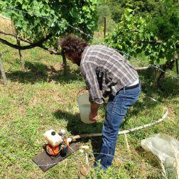 Campdigrano - La pompa per irrigare