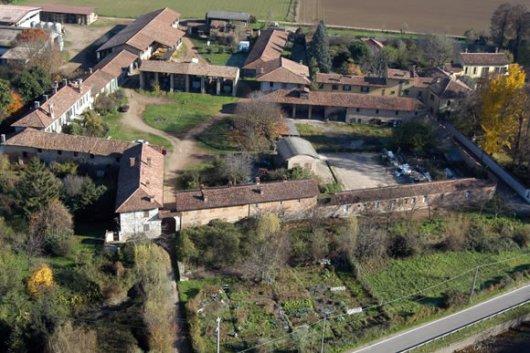 Cascina Piatti - Panoramica dall'alto