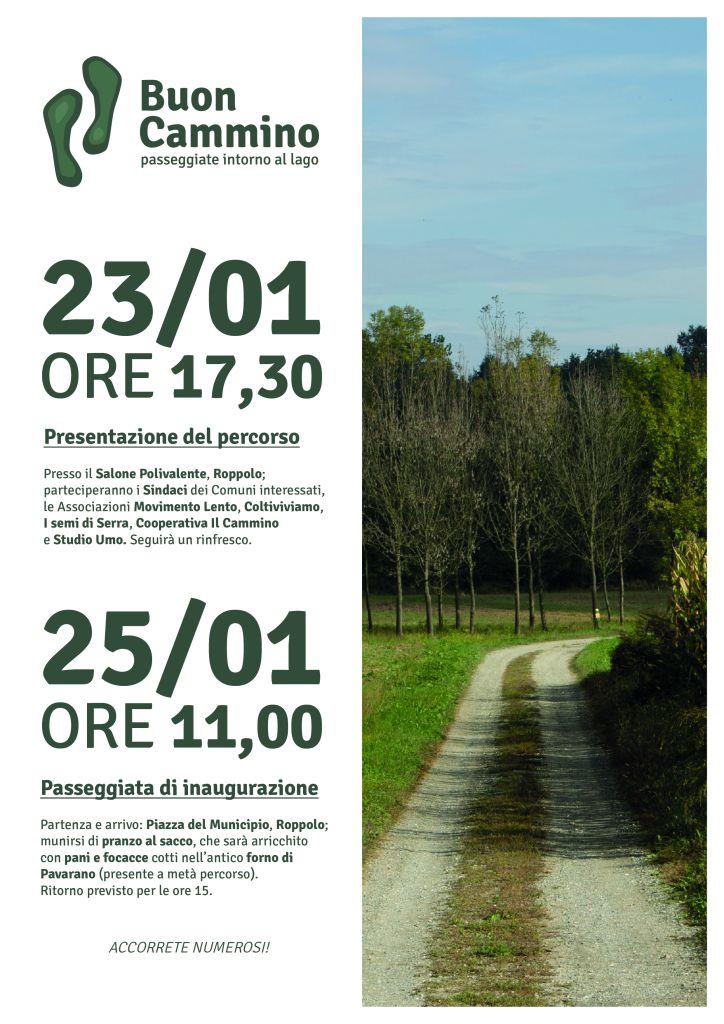 Roppolo Buon Cammino - Volantino