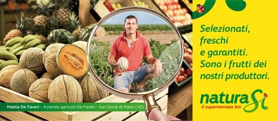 NaturaSI - Solo i Frutti dei Nostri Produttori