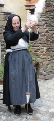 Filatura della lana