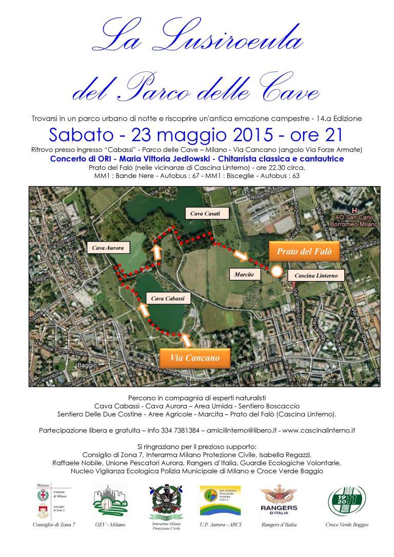 Lusiroeula 2015 -Mappa e Info