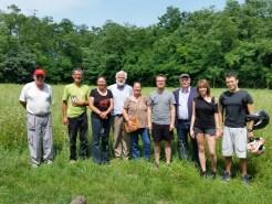 Saraceno al Parco delle Cave - Partecipanti al Sopralluogo