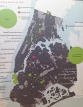 Exponymi Mostra - Mappa