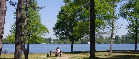 Paysages en écho / Faire un tour du lac