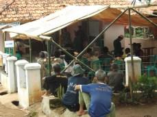Ngamimitian ngitung disaksian ku saksi jeung warga masarakat