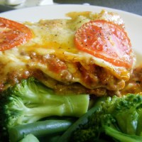 simple beef lasagne