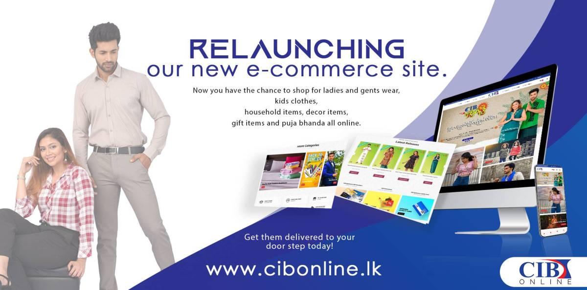 CIB Online Store - www.cibonline.lk