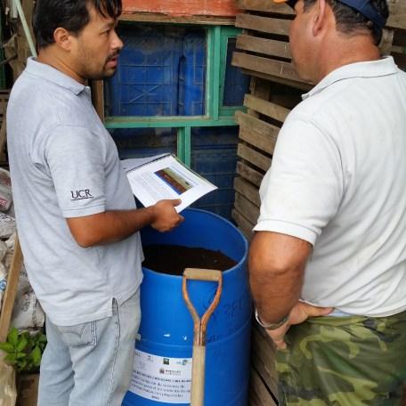 Los biobeds son contenedores para destinar los residuos de plaguicidas y contribuir a su degradación. Son elaborados con materiales baratos y de fácil adquisición