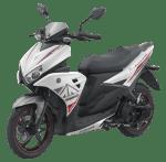 Yamaha Aerox 125LC Light Speed White