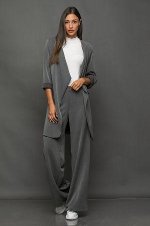 Φωτογραφία προϊόντος Σακάκι oversized - Παντελόνα