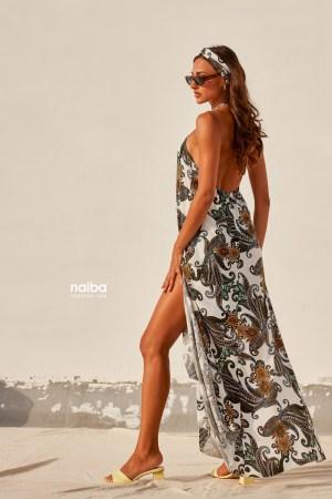 Φωτογραφία προϊόντος Φόρεμα μακρύ με δέσιμο