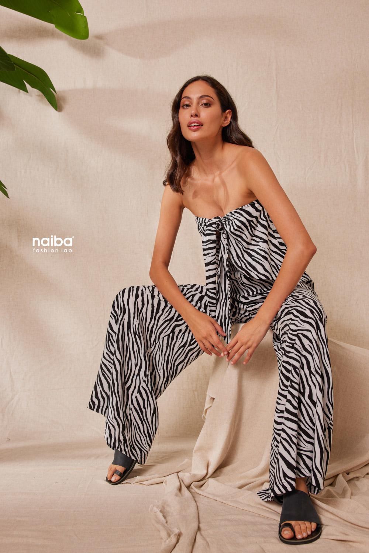 Φωτογραφία προϊόντος Crop Top zebra μοτίβο