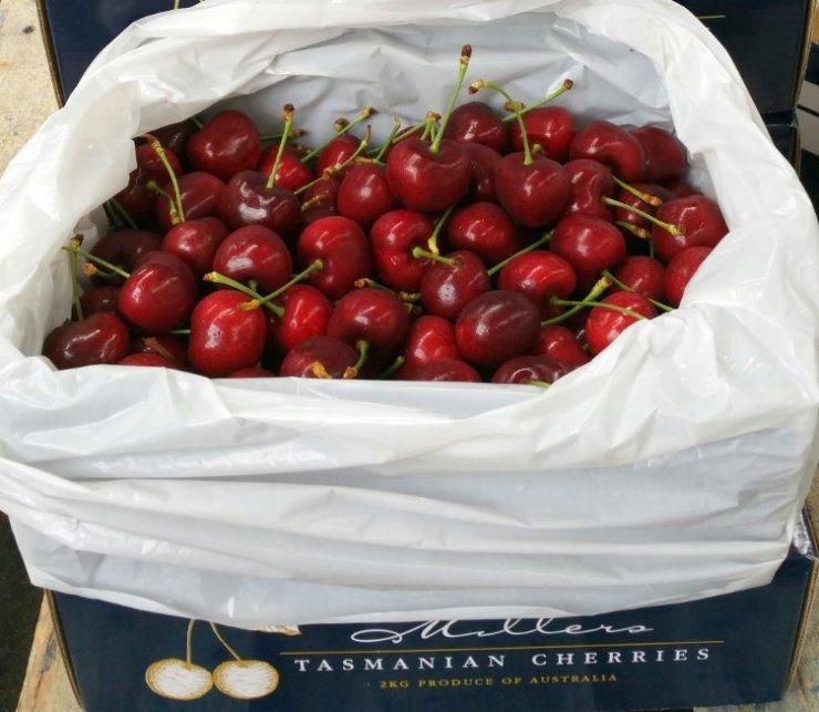 Cherry packed