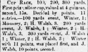 1893 W Winter wins cup