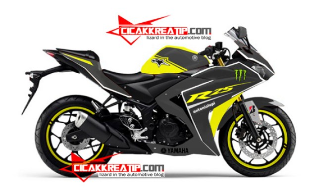 modif yamaha r25 black yellow-cicakkreatip.com