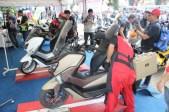 Layanan service Yamaha di event Jambore Nasional pertama Indonesia Max Owners (IMO) dan Ultah pertama Bandung Nmax Community (BNC)