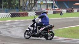 Test ride Mio Z di Sentul Karting International Circuit (2)