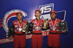 Juara 1,2,3 Yamaha Indonesia Technician Grand Prix (ITGP) 2016
