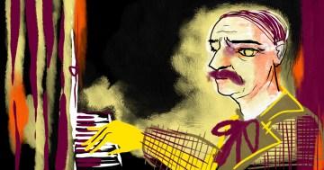 Portrait of Louis Vierne